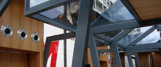 Fachadas e Vidro Especial Terminal de Passageiros